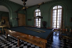 The billiard room at the chateau (jmvnoos in Paris) Tags: paris france green castle nikon palace vert 100views napoleon 300views 200views d200 chateau billiard chteau malmaison napolon josphine rueilmalmaison views200 jmvnoos naploleon