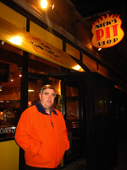 Dad outside Nick's