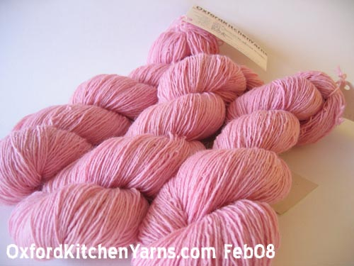Oxford Kitchen Yarns Sock Yarn: Candyfloss