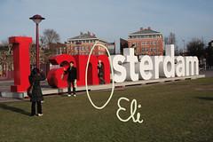 Eli is Amsterdam