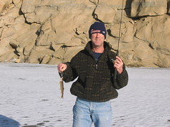 Tom With Bait? Small Lake Trout (fethers1) Tags: icefishing laketrout grossreservoir