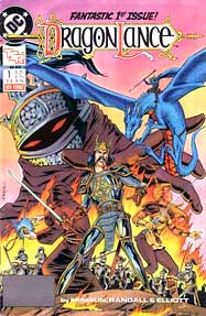 DC/Dragonlance comic, first issue