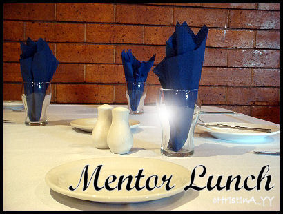 Mentor Lunch