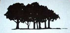 Marushka: trees (black)