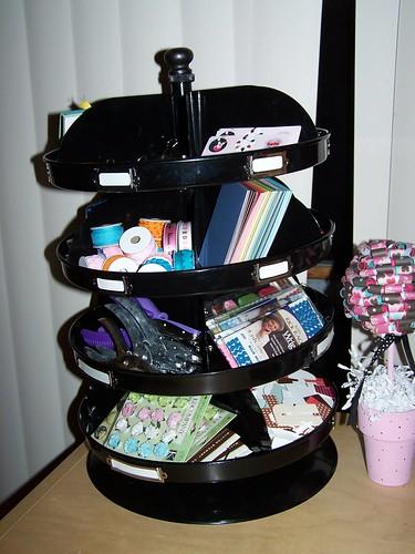 Craft Supply Carousel