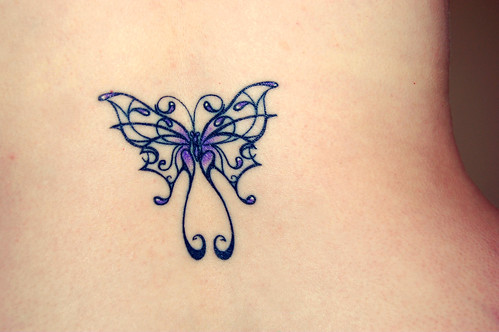 butterfly tattoos - by the butterfly tattoos experts