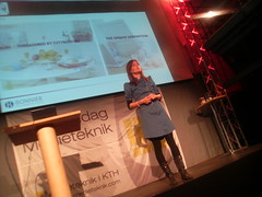 Sara Öhrvall, head of research and development på Bonnier