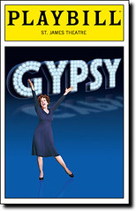 Gypsy Playbill (NYC-75) Tags: st james theater broadway patti playbill gypsy lupone