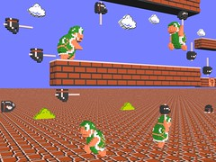 3-D Super Mario Bros. - Hammer Bros. (NES--still-the-best) Tags: old school 3 game flower art nerd mushroom up hammer buzzy 1 bill video 3d bowser geek princess brothers emulator turtle d nintendo pipe beetle peach 8 kingdom sprite super mario games atari retro gaming gamer toad pixel sega toadstool block bullet nes 16 8bit 1up stomp sprites pixels bros luigi rom bit miyamoto vector famicom enemies cartridge hammers retainer shigeru koopa roms voxel voxels