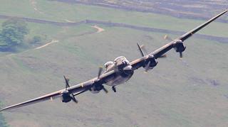 RAF BBMF DAMBUSTERS 65th Tribute.