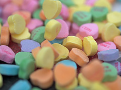 Macro Monday - Hearts (d2roberts) Tags: macro heart candy smileonsunday macromonday lovelyhearts