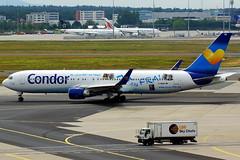 D-ABUZ 767-330(ER) Condor (Antonio Doblado) Tags: frankfurt twinaisle doblepasillo dabuz boeing b767 767 condor