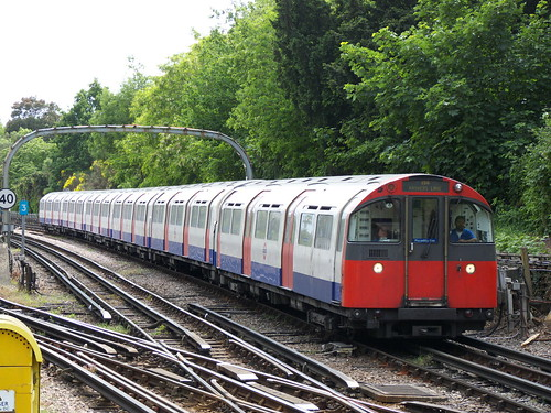 1973 Stock at Ealing Common Station