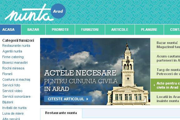 Nunta Arad - www.nunta-arad.ro