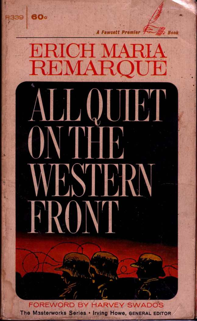 936full-all-quiet-on-the-western-front-(a-fawcett-premier-book)-cover