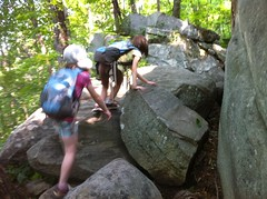 Kids in the Boulder Field