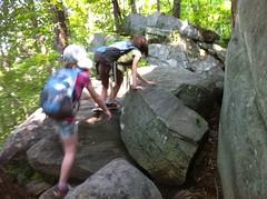 Kids in the Boulder Field
