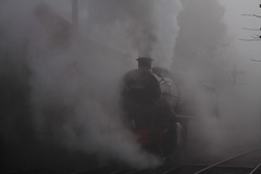 Steam And Fog. (ThePigface) Tags: fog steam steamtrain severnvalley svr severnvalleyrailway