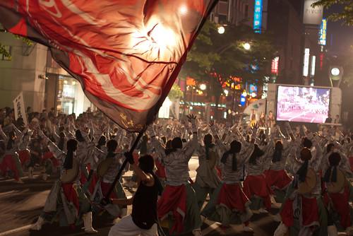 2011 Yosakoi Soran Festival (YOSAKOIソーラン祭り) in Susukino, Sapporo, Japan
