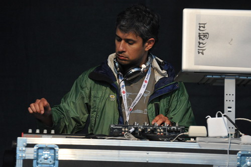 DJ Akash Sinha at Westfest