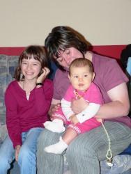 Uschi, Natalie und ich