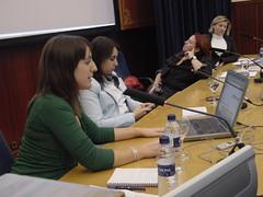 mesa de mujer y blogs