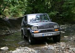 Gu (vatch2006) Tags: river armenia toyota landcruiser armenie lj70 voyagearmenie