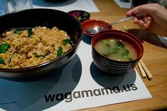 wagamama.us (Phil Romans) Tags: trip travel cambridge friends vacation food fall boston fun lunch yum rice good massachusetts mass wagamama