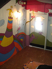 oh the places 4 (newyorkcaresmuralprojects) Tags: drseuss childrensbooks newyorkcaresday2007