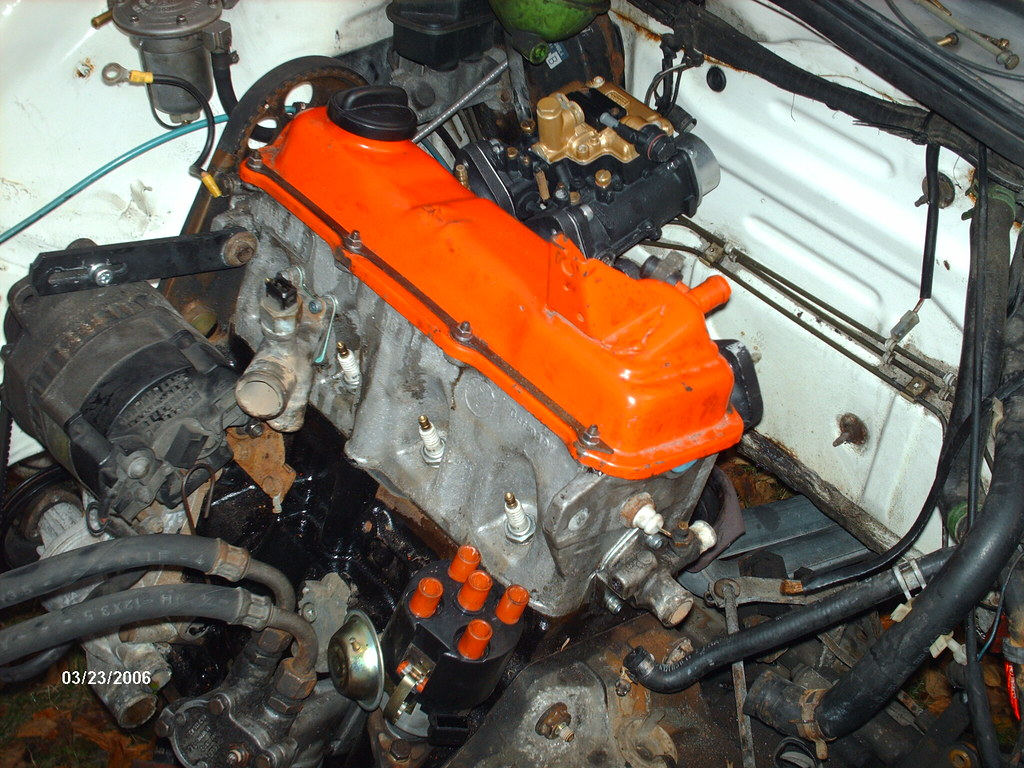 charlie's mk1 project - engine in 03/02 1869267226_7ed76887bf_b