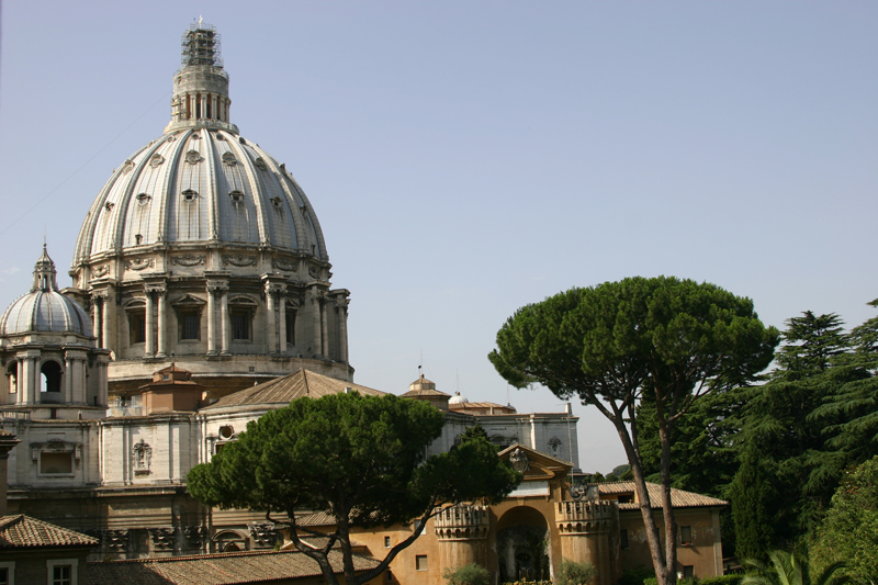 Michelangelo's-Great-Dome-of St Peter's