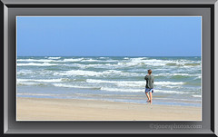Padre Island National Seashore (tjonesphotos) Tags: ocean blue water mexico island texas gulf national seashore padre padreislandnationalseashore