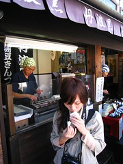 銀閣寺方方栗子餅