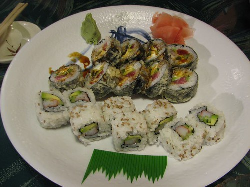 california roll & crispy roll