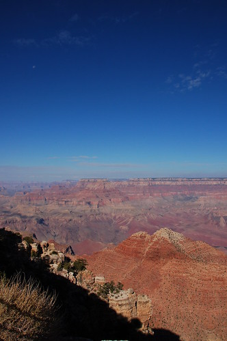 La luna y el Grand Canyon 2