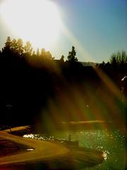 Rainbow Rays (diongillard) Tags: light shadow sun reflection nature water river colorado snakeriver css keystone rays css2007