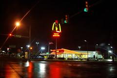 fast food 2 (strph) Tags: oklahoma rain restaurant fastfood mcdonalds storefront oklahomacity 2007 samsunggx10