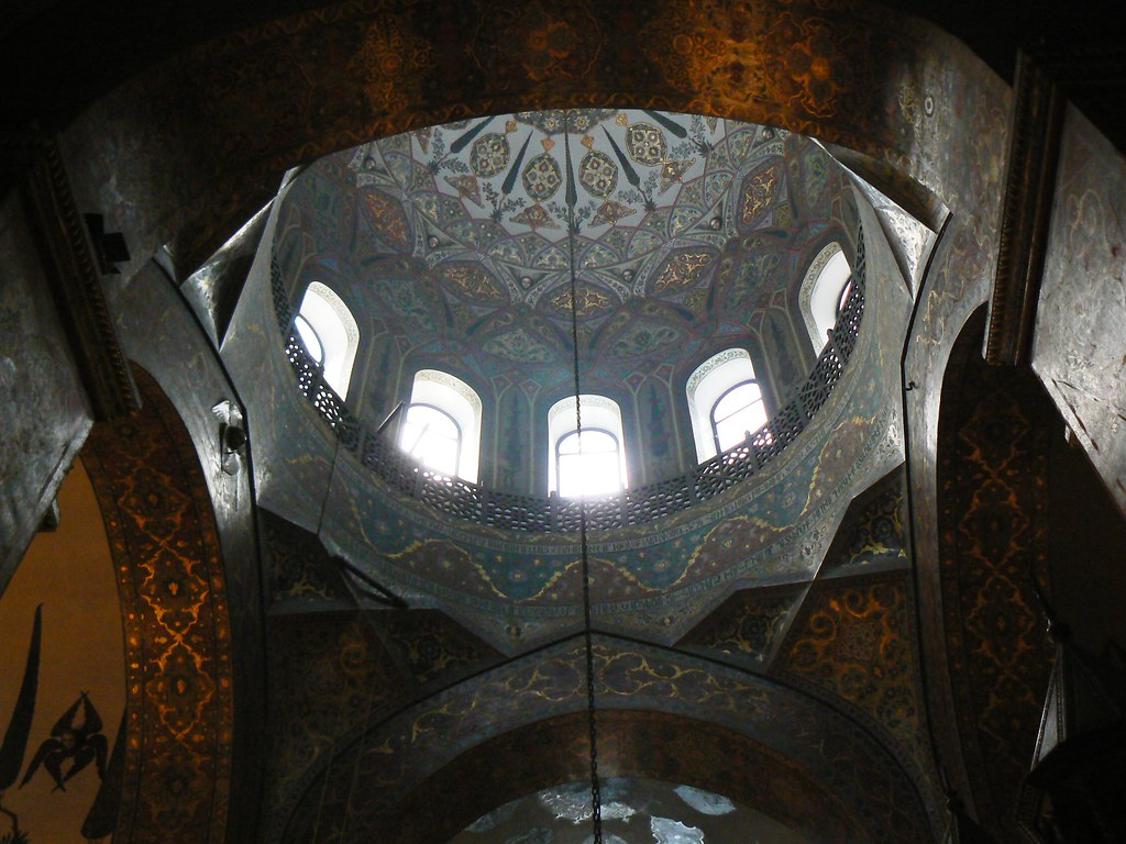The dome of Holy Etchmiadzin Cathedral