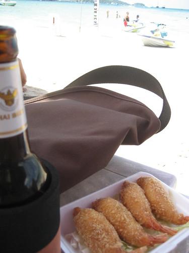 Beer & snack...