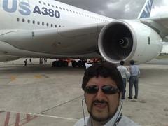 Feira mostra maiores aviões do mundo