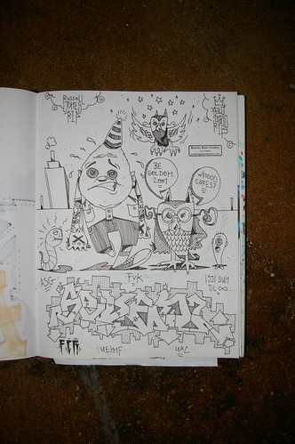 work sketchbook
