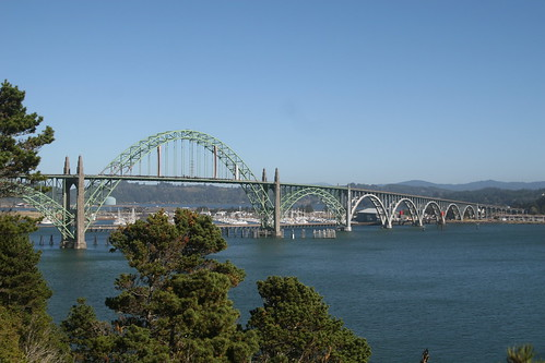 Bridge Over Yaquina Bay