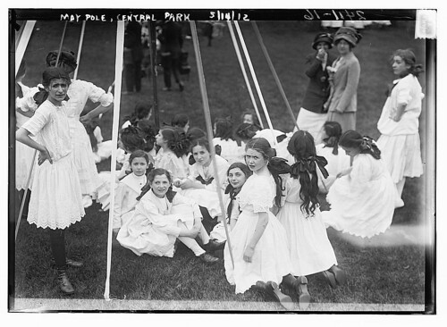 May Pole - Central Park (LOC)