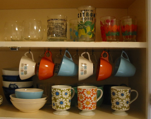 Glasses and mugs and cups