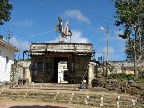 entrance to biligiri ranganna temple