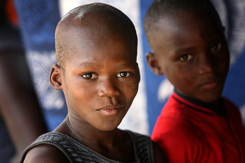 West African child