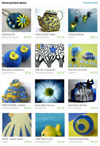 Blue fellow... like Yellow?