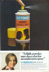 1970's Arrid Extra Dry Deodorant (twitchery) Tags: vintage ads 80s 70s aerosol deodorant vintageads antiperspirant vintagebeauty