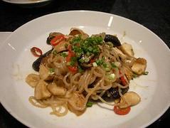 Japanese Dinner - Mushroom Salad