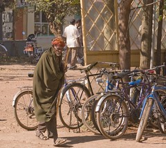 Bicycles in Bahir Dar - photo by A. Davey, flickr
